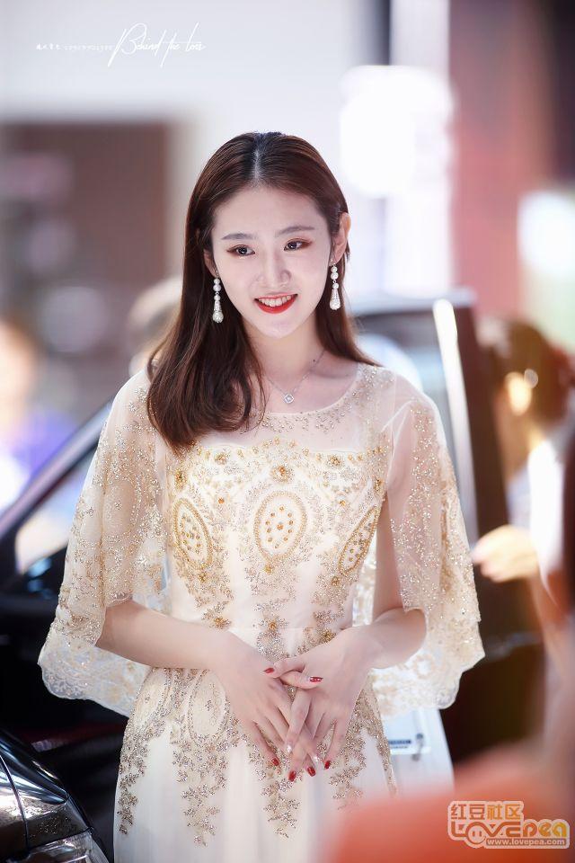 2018柳州东盟车展模特
