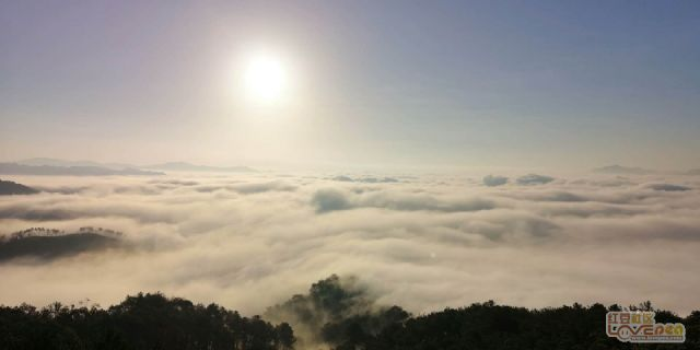 梧州的美丽云海