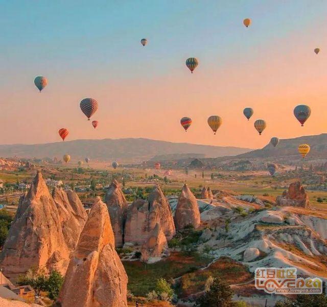 这里有全世界最浪漫的热气球。