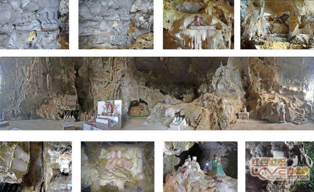 山洞里的古文化遗产
