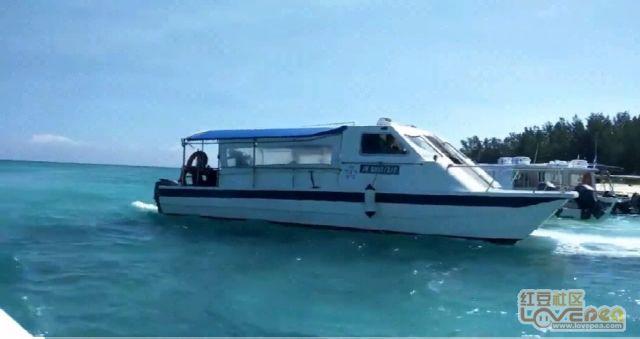 马来西亚美人岛风光