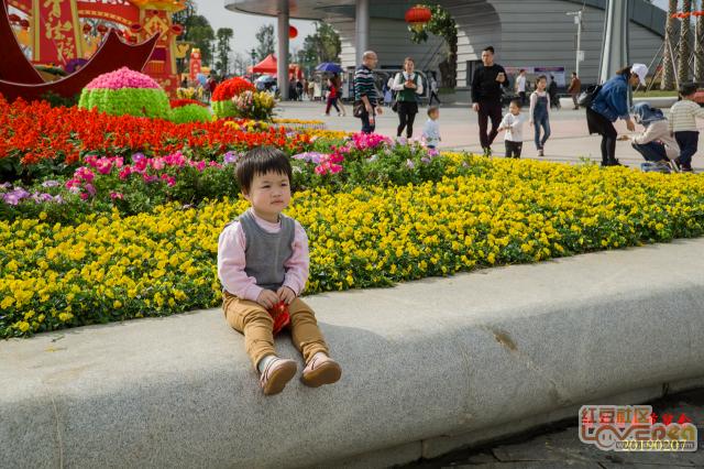 可爱小女孩--2019春节贵港园博园