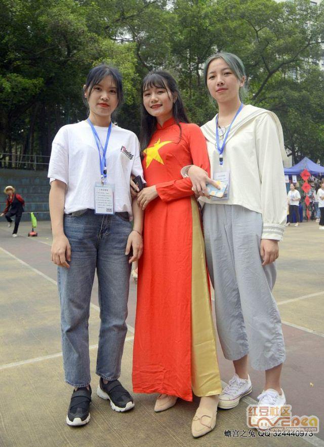 广西民族大学国际文化艺术节花絮