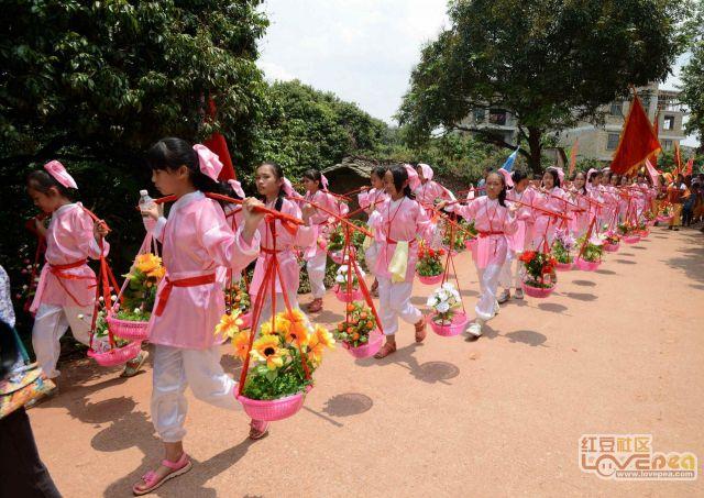 桂平市社步镇良北村圣炮文化节