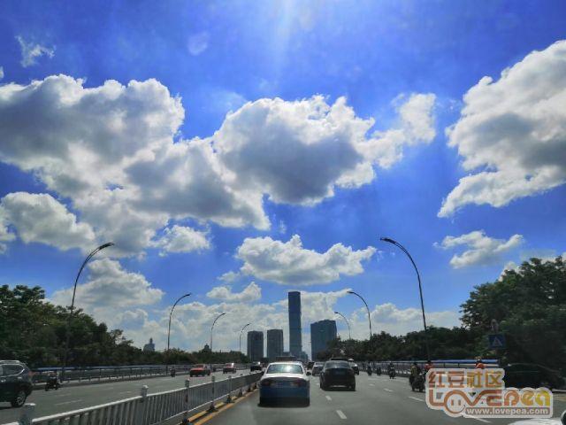 今日柳州:蓝天白云