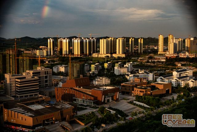 城北的彩虹