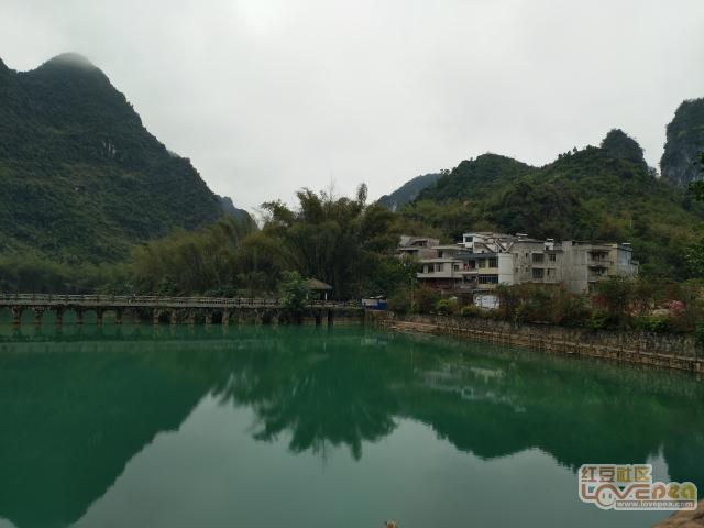 隆安布泉河上好风景