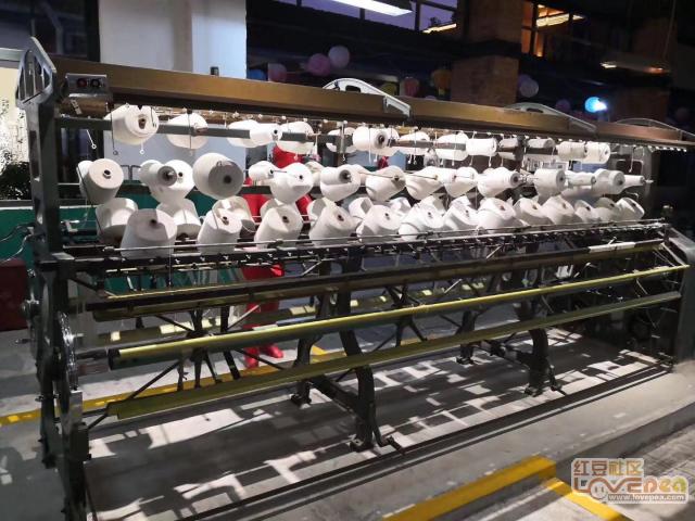过去的纺织工业