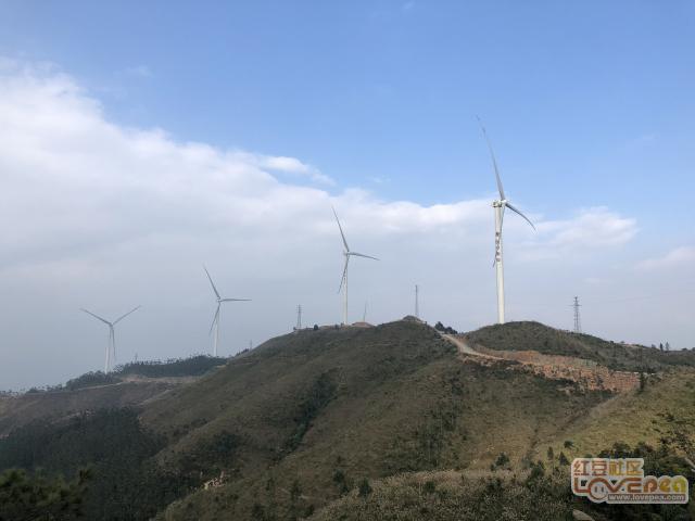 罗阳山上风电场