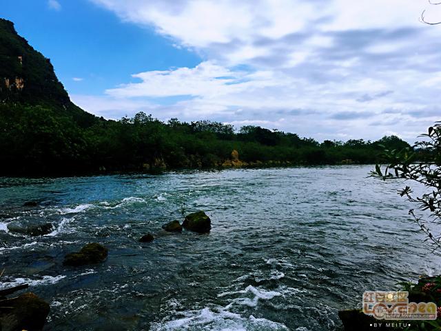 黑水河美景