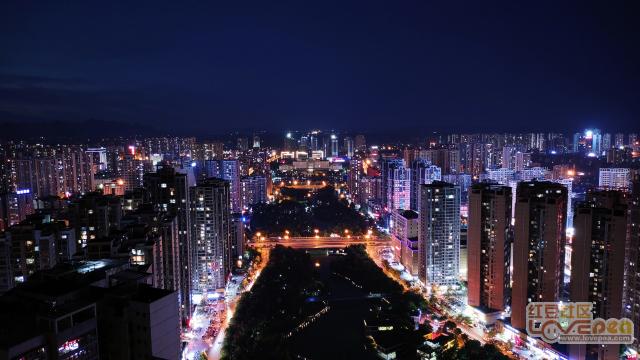 来宾城区美景
