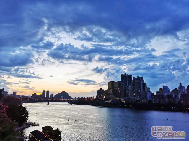 柳州―风雨欲来图