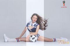 又到一年世界杯,足球宝贝拍起
