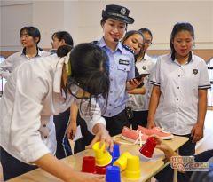 南宁推出全国首套校园安全主题拓展游戏