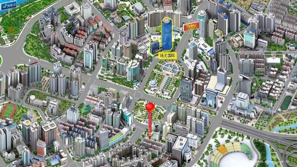 南宁柳州三维地图的pk